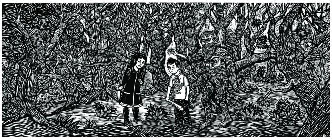 Artemio Rodriguez, Evil Forest