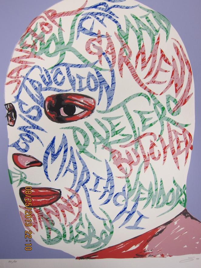 Salomon Huerta, Silkscreen Print